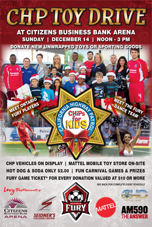 Chp Chips For Kids Toy Drive Citizens Business Bank Arena